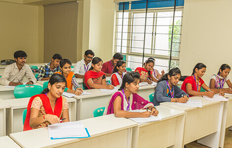 MSW colleges  Exam Hall in North Bangalore