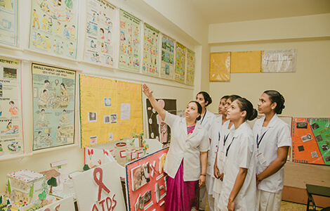 SBSCN Community Health Nursing lab in Bangalore