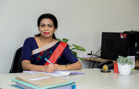 Vidhu Merin Jacob, Principal of SB School of Nursing