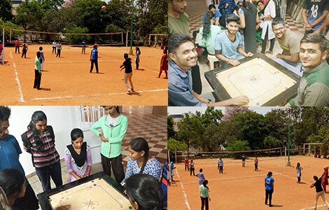 Sports Event in Top BSc FAD colleges in North Bangalore