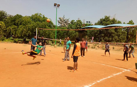 Sports Event in Top MA Journalism colleges in Bangalore