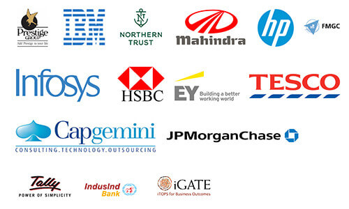 SB College of Management Placement Company logos